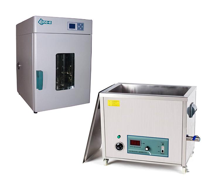 清洗      -焊接作业结束以后  利用超声波清洗机进行清洗及        烘烤。